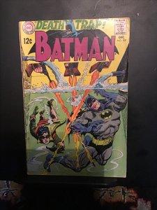 Batman #207 (1968) Mid-grade underwater trap! VG/FN Wow!