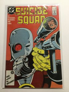 Suicide Squad 6 Very Fine Vf 8.0 Dc Comics