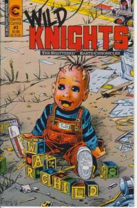Wild Knights #3 VG; Eternity | low grade comic - save on shipping - details insi