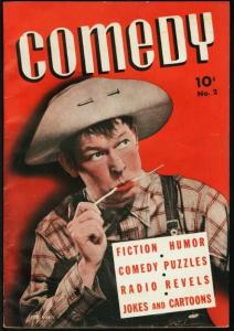 COMEDY #2-194?-FRED ALLEN COVER-HIGH GRADE FN/VF