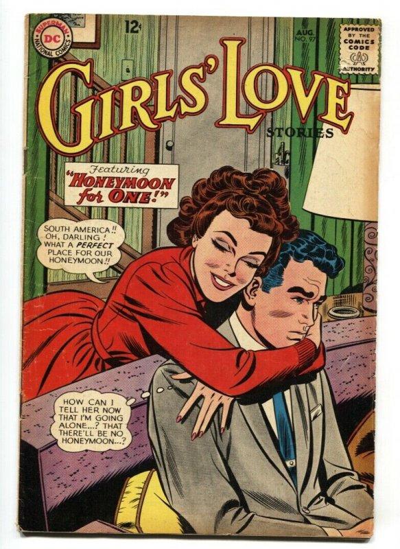 GIRLS' LOVE STORIES COMICS #97 comic book 1963-DC ROMANCE-EARLY 12