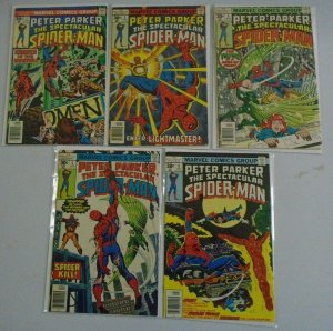 Early Spectacular Spider-Man 1st series run #2-11 avg 5.0 (1976 & 77)