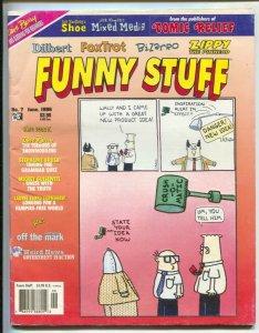 Funny Stuff #7 1996-Page One-Zippy the Pinhead-Bill Griffith-Dilbert-Bizarro-VG