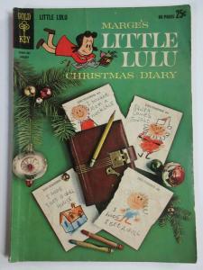 LITTLE LULU #166 (Gold Key, 1/1963) VERY GOOD (VG) GIANT SIZE CHRISTMAS DIARY