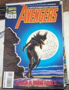 Avengers # 379 1994, Marvel CAP THOR IRONMAN SCARLET WITCH vision