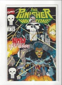 The Punisher War Zone #6 (1992) John Romita Jr. Marvel Comics NM