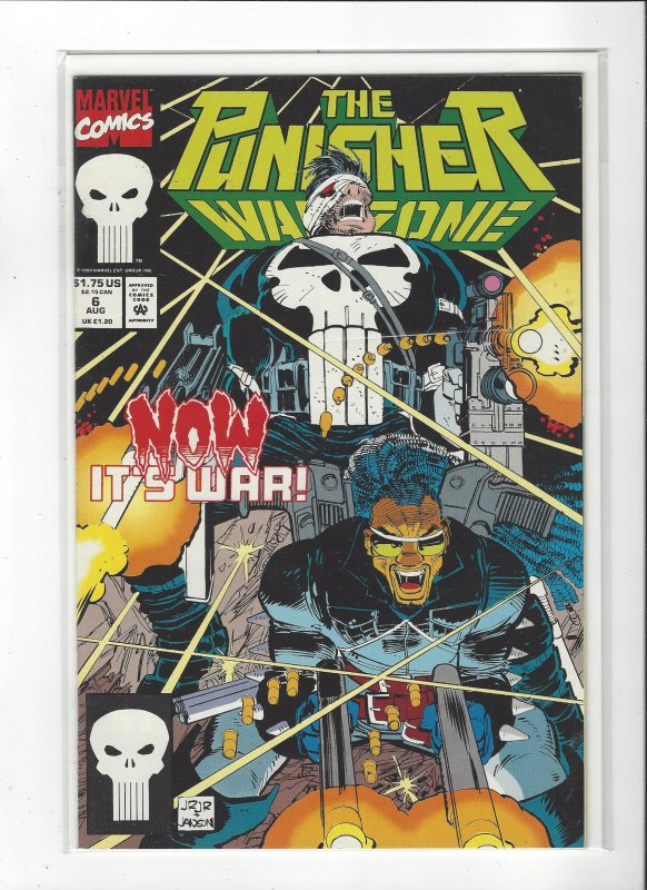 The Punisher War Zone #6 (1992) John Romita Jr  Marvel