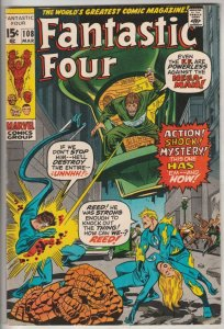 Fantastic Four #108 (Mar-71) VF/NM High-Grade Fantastic Four, Mr. Fantastic (...