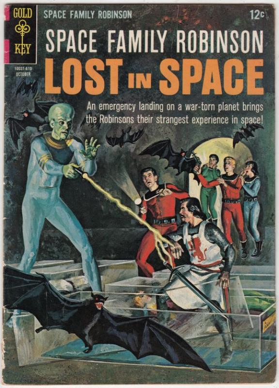 Space Family Robinson, Lost in Space #18 (Apr-67) FN Mid-Grade Will Robinson,...
