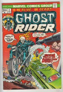 Ghost Rider, The #4 (Feb-74) VF High-Grade Ghost Rider