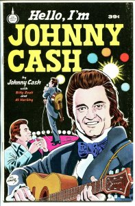 Hello. I'm Johnny Cash 1976-Spire-Al Hartley-Johnny Cash origin-FN-