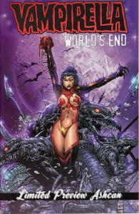 Vampirella Monthly Ashcan #5 VF/NM; Harris | save on shipping - details inside