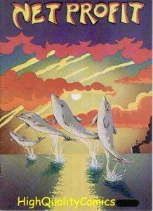 NET PROFIT #1, FN, Underground, 1974, 1st, Save Dolphins/whales