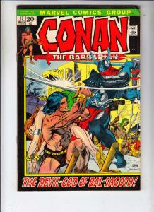 Conan the Barbarian 17 & 18 set #17 (Aug-72) VG/FN Mid-Grade Conan the Barbarian