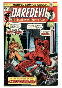 DAREDEVIL #124 1975 1st appearance of Copperhead Marvel