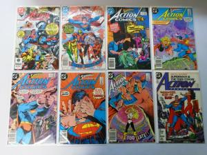 Action Comics, From:#552-599, 23 Different 8.0/VF (1984-1988)