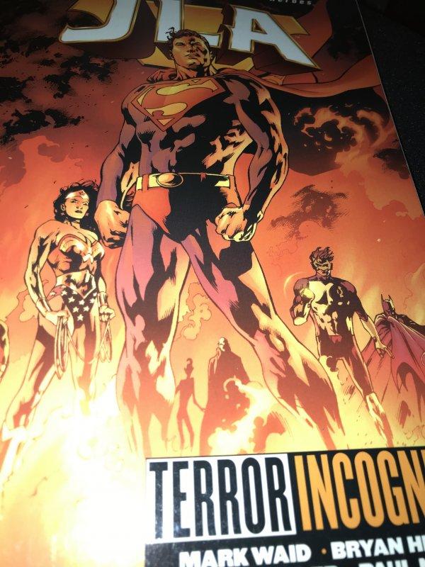 DC JLA Terror Incognita Mint TPB