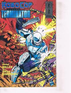 Lot Of 2 Dark Horse Comic Books Robocop #2 and Ultraverse Wrath #8 ON2