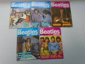 The Beatles Book Monthly magazine lot 10 different issues (1987)