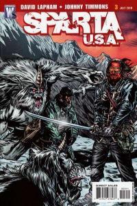 Sparta: USA #3, VF+ (Stock photo)