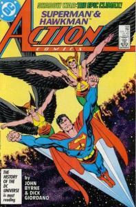 Action Comics (1938 series) #588, VF+ (Stock photo)