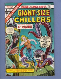 Giant-Size Chillers #1 VG Marvel 1975