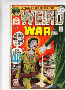 Weird War Tales #4 (Apr-72) FN/VF- Mid-High-Grade