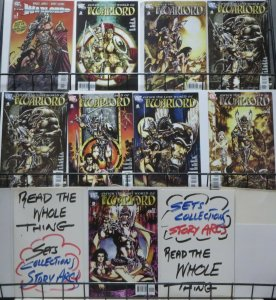 WARLORD MODERN MINI-LOT! 8 ISSUES! Travis Morgan in the 2000s! Mike Grell!
