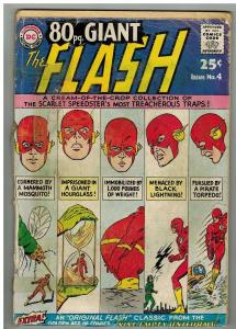 EIGHTY PAGE GIANT 4 POOR October 1964 FLASH