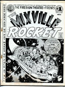 Mixville Rocket #1 1974-Firesign Theatre-William Stout cover-1st issue-VG
