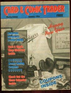 CARD AND COMIC TRADER 1994 JAN VF