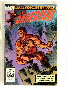 Daredevil # 191 VF/NM Marvel Comic Book Frank Miller Elektra Bullseye Hand HY1