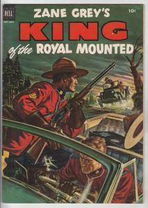 King of the Royal Mounted #9 (Sep-52) VF+ High-Grade King of the Royal Mounted
