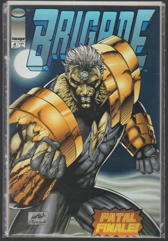 BRIGADE #4 - FATAL FINALE! IMAGE COMICS - N/M