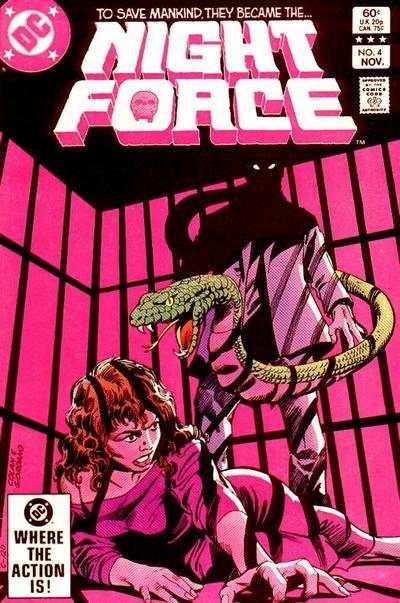 Night Force (1982 series) #4, VF- (Stock photo)