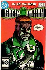 Green Lantern #196 (1960 v2) Howard Chaykin Guy Gardner VF+