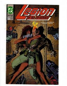 Legion of Super-Heroes #29 (1992) SR8