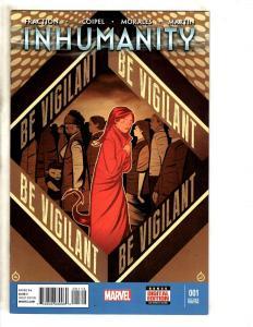 Inhumanity # 1 (2nd Print) Marvel Comic Book Inhumans MK8