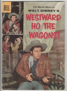Four Color #738 (Aug-56) FN Mid-Grade Western