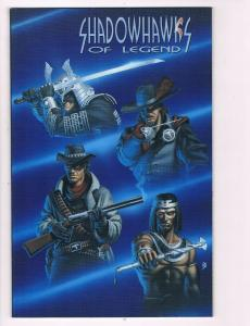 Shadowhawks Of Legend # 1 NM Image Comics Graphic Novel Jim Valentino B99