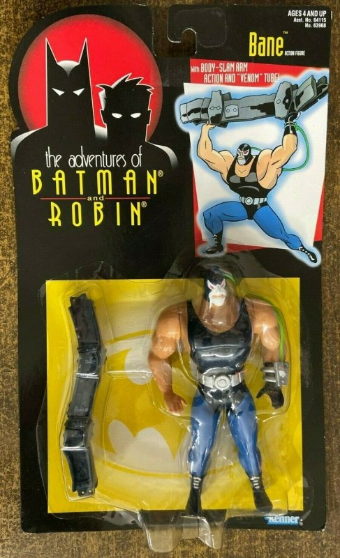 BANE ACTION FIGURE- The Adventures of Batman & Robin SEALED- on card!