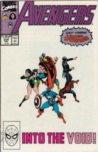 THE AVENGERS #314 FN SPIDERMAN APP. MARVEL COMICS