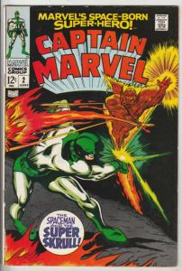 Captain Marvel #2 (Jun-68) NM/NM- High-Grade Captain Marvel