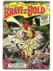 The Brave and the Bold #13 1957- Silent Knight-comic book G+