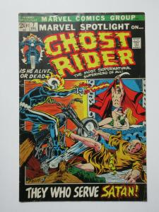 Marvel Spotlight on Ghost Rider #7 (Marvel DEC 1972) Gary Friedrich Mike Ploog G