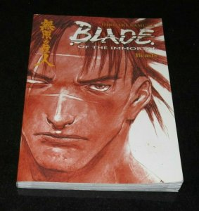 Blade of the Immortal Beasts TPB Graphic Novel NM White Pages Hiroaki Samura