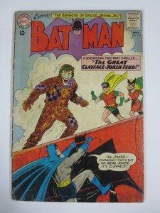BATMAN #159 (DC,11/1963) GOOD (G) Golden Age Batgirl, Joker, Clayface!