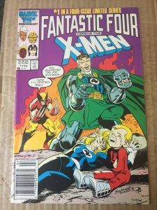 Fantastic Four vs The X Men #1