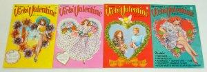 Vicki Valentine #1-4 VF/NM complete series w/paper dolls - bill woggon set 2 3