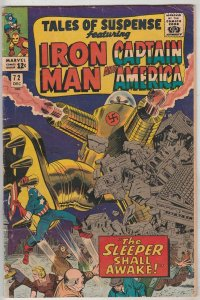 Tales of Suspense #72 (Dec-65) FN+ Mid-High-Grade Iron Man, Captain America, ...